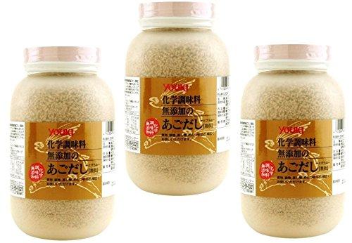 ユウキ食品 化学調味料無添加のあごだし 400g ×3個