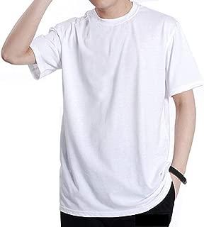 BIG LION Summer Men Tshirt 5XL 6XL 7XL 8XL Large Size Sleeve Weight 50-150kg Plus Size