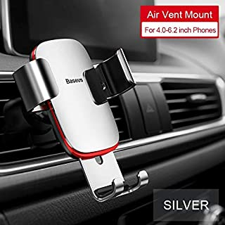 Phone Holders & Stands - Baseus Gravity Car Phone Holder for Car CD Slot Mount Phone Holder Stand for iPhone X Samsung S10...