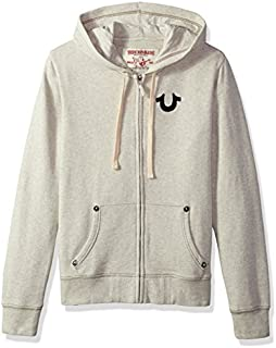 True Religion Men's Buddha Logo Zip Hoodie2