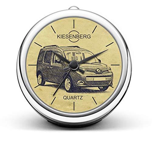 KIESENBERG Design Tischuhr Geschenke für Renault Kangoo ab 2013 Fan Uhr T-5297