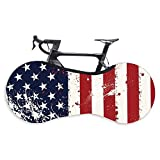 Hovico Bicycle Wheel Cover, Anti-dust Indoor Bike Storage Bag, Bike Wheel Cover Washable High Elastic Tire Package Road MTB Protective Gear Garage for Tires of 26-29 Inches