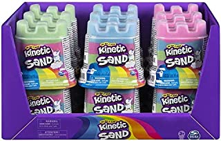 Kinetic Sand, Rainbow Unicorn Multicolor Containers, for kids ages 3 and up, 10 Oz (Pack of 9)