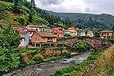 LYBSSG Puzzle Rompecabezas de 1000 Piezas para Adultos Rompecabezas de Madera Paisaje de Asturias, España Rompecabezas DIY Juego Educativo de Rompecabezas Niños Juegos Familiares Regalo