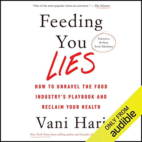 Feeding You Lies audiobook cover art