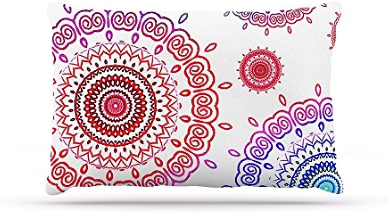 Kess InHouse Monika Strigel Rainbow Infinity  Fleece Dog Bed, 30 by 40Inch