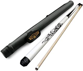 Champion Cupid Billiards Pool Cue 18-21 Oz (tip Size: 12 or 13 Mm), White Pool Case, Cuetec or Champion Glove