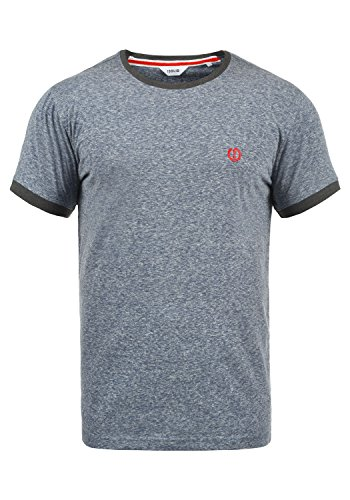 !Solid BennTee Herren T-Shirt Kurzarm Shirt Mit Rundhalsausschnitt Aus 100{0da65c68ab63083f688302511c58a1f5496ed5ee6e3e06a738ea18da273ba401} Baumwolle, Größe:XL, Farbe:INS BLU M (P8991)