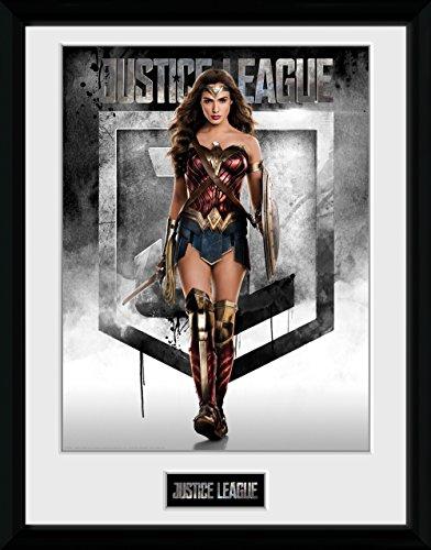 GB Eye Gerahmtes Poster Justice League Wonder Woman, diverse, 30x 40cm