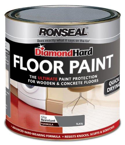 Ronseal DHFPSL25L 2.5L Diamond Hard Floor Paint - Slate