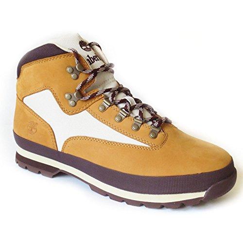 Timberland Mens Euro Hiker Boot (10 M US, Wheat Nubuck)
