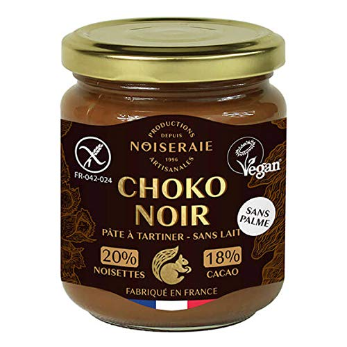 NOISERAIE - PATE A TARTINER CHOCO NOIR SANS LAIT 300G