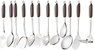 Nicesh 12-Piece Stainless Steel Kitchen Utensils