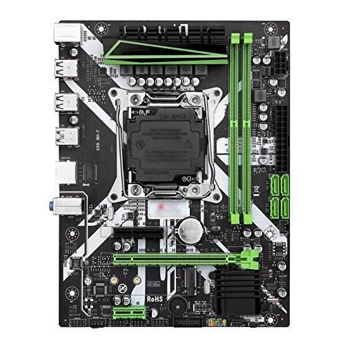 Tablero de reemplazo de computadora Placa Base De La Computadora Fit For Huananzhi X99 X99-8m-f Slot LGA2011-3 USB3.0 NVME M.2 Support SSD DDR4 Reg Memoria ECC Y Procesador XEON E5 V3 V4 Placa base de
