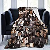 Ian-Somerhalder Fleece Blanket Ultra-Soft Micro for Couch Or Bed Warm Throw Blanket Medium for Teens 60X50 Inch