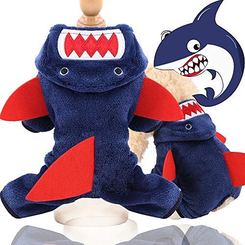 WGHERE UP Ropa de Navidad para perros y mascotas, traje de pijama para mascotas, abrigo de felpa...