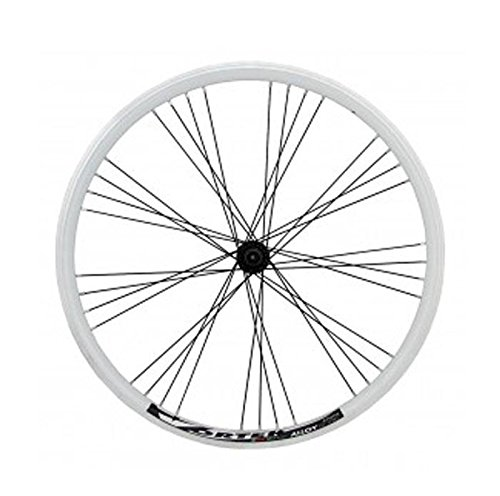 RIDEWILL BIKE Ruota Anteriore MTB 26'' Alluminio 9x4 Bianco (Ruote MTB) / Front Wheel MTB 26'' Aluminium 9x4 White (MTB Wheel)