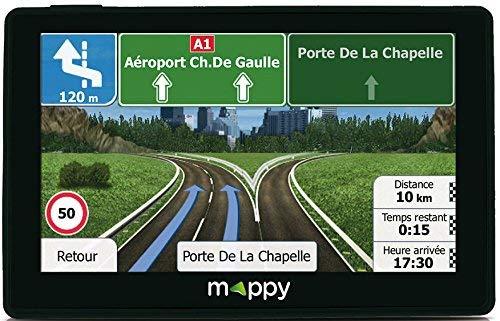 Mappy GPS Iti E438T (Écran : 4,3 Pouces - 24 Pays - Mise à...