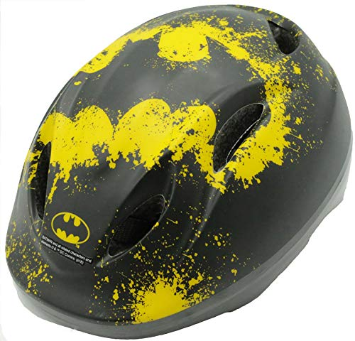 E&L Cycles Kinder Fahrradhelm Batman Deluxe Gr. 51-55 cm verstellbar