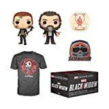 Funko Marvel Collector Corps Subscription Box, Black Widow Theme, May 2020, Large T-Shirt, Multicolor