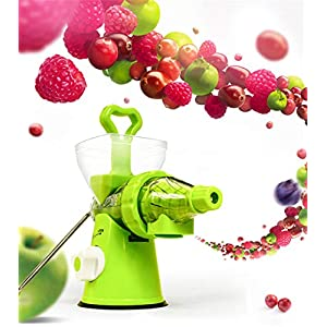 K.LSX Juicer Machine, Manual Fruit Vegetable Juicer Machine Citrus Orange Lemon Squeezer Kitchen Manual Hand Crank… |