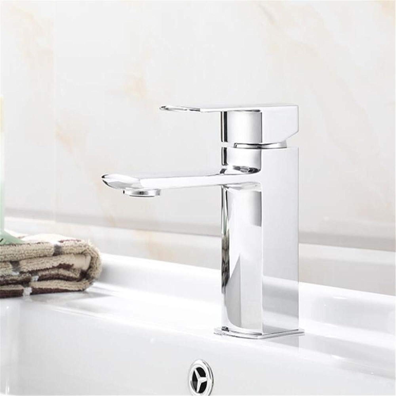 Faucetbasin Mixer Tap Washbasin Faucet Cold and Hot Washbasin Faucet All Copper Mixing Faucet.