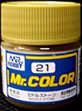 Toys 4 U 7777 MR Hobby Color C21 Middle Stone Paint 10ml /Item# G4W8B-48Q20727