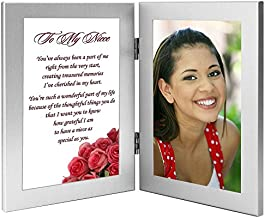 Gift for Niece - Sweet Poem for Niece from an Aunt or Uncle - Add Photo