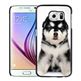 New Personalized Custom Designed For Samsung Galaxy S6 Phone Case For Baby Alaskan Malamute Phone Case Cover