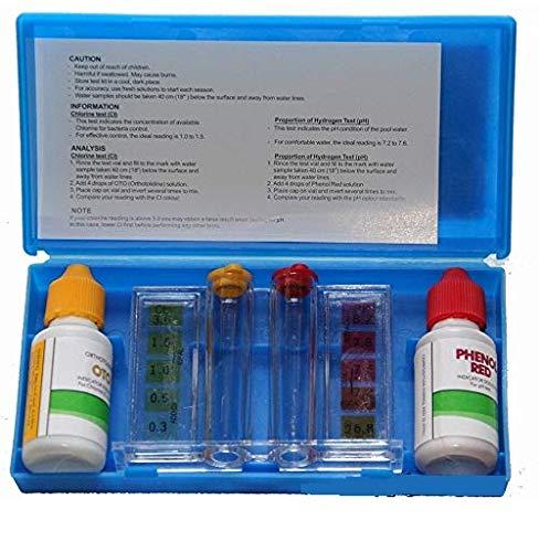 Pool Style -Kit d'analyse de l'eau de Votre Piscine - Teste d'eau Piscine.-SANALYSE