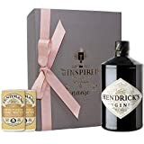 Personalised Hendricks Gin in Rose Gold Engraved Presentation Gift Box