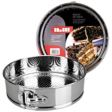 springform STAINLESS STEEL cake tin [ 26 cm dia [ 6.5cm deep ]]