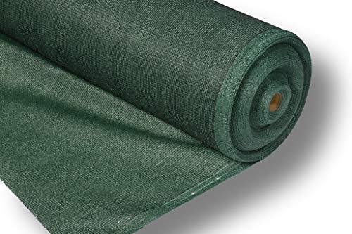 Filet d'ombrage AGRIplus PRO - 1,8 x 15 m - 150 g/m² - 72 % d'ombrage - 3-5 ans - Fixation facile et rapide grâce aux trous de boutons - Grande résistance à la déchirure