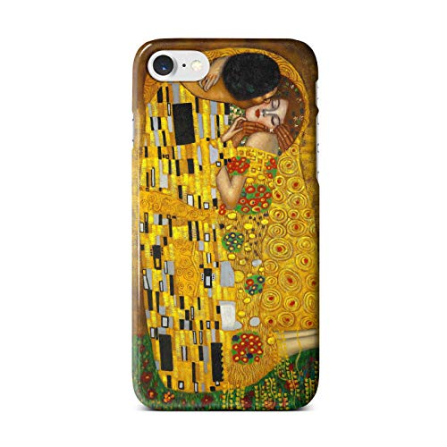 Classic Art Collection Case for iPhone SE 2020 - Artwork 8: The Kiss - Gustav Klimt.