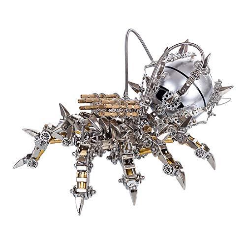 TopBau Metall 3D Puzzles DIY Bluetooth Lautsprecher Modellbausätze Metal Mechanisches Spinne Modell Konstruktionsspielzeug Persönlichkeit Geschenk für Erwachsene und Kinder