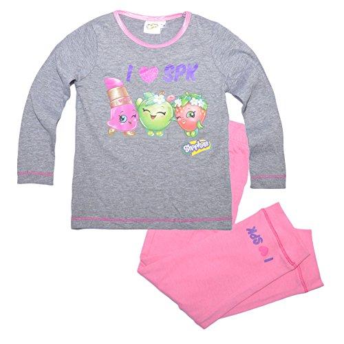 Shopkins - Pijama de manga larga para niñas, diseño de dibujos Design 5