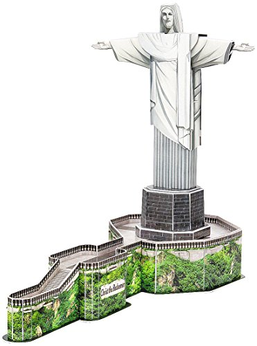 Playtastic Kinder 3D Puzzle Spiele: 3D-Puzzle Cristo Redentor in Rio de Janeiro, 22 Puzzle-Teile (Kinder Spielzeug)