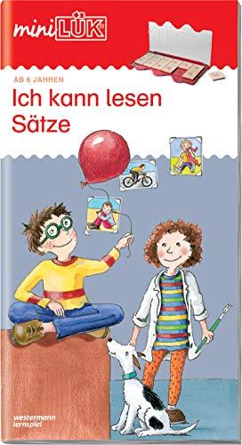 miniLÜK-Übungshefte: miniLÜK: 1./2. Klasse - Deutsch: Ich kann lesen Sätze: Deutsch / 1./2. Klasse - Deutsch: Ich kann lesen Sätze (miniLÜK-Übungshefte: Deutsch)