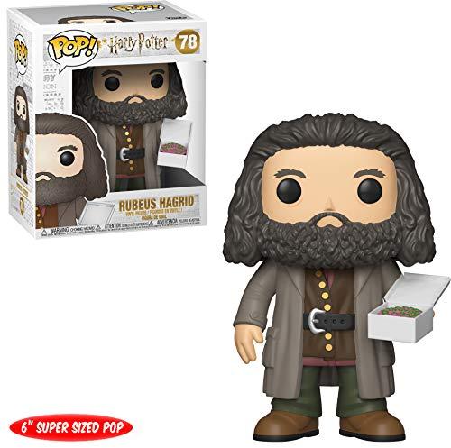 Funko 35508 Pop Vinilo: Harry Potter S5: Figura Coleccionable de Hagrid con Pastel de 6 Pulgadas, Multicolor