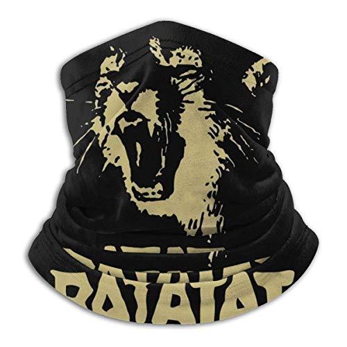 ngxianbaimingj Unisex Halswärmer, Bandanas, Kopfbedeckung, winddicht, Gesichtsmaske, Halstuch, Multifunktions-Stirnband, Ratatat Wildcat schwarz