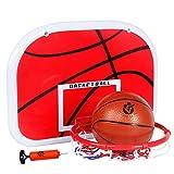 XZYB-lqj Qxz127 Baloncesto al Aire Libre al Aire Libre Junta Juvenil de Baloncesto Baloncesto Marco Colgante de estantes número 5 del aro de Adulto Niños del aro de Inicio Soporte de Baloncesto