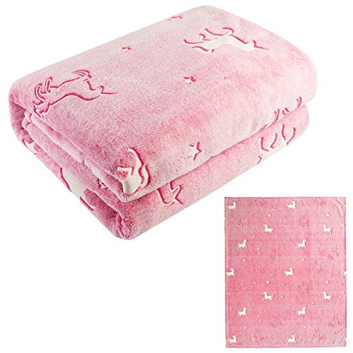 Glow in Dark Blanket is a great gift for girls age 6