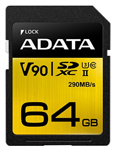 ADATA SD Premier One 64GB UHS 2/U3/CL10 290/260MB/s