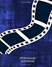 Story Board Notebook: Clapperboard and Frame Sketchbook Log Book Guide Template Panel Pages Book and 4 Frames Per Page For Movie Making Gift For Movie ... With 120 Pages (Film Writing & Sketching Log)