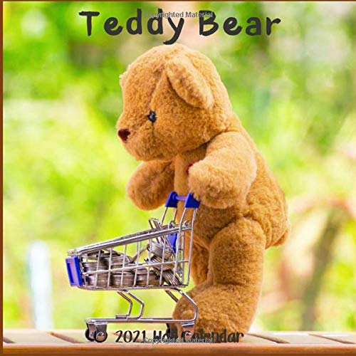 Compare Textbook Prices for Teddy Bear 2021 Wall Calendar: Teddy Bear 2021 Calendar, 18 Months  ISBN 9798569352180 by 2021-2022, Wall Calendar