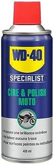 WD-40 Specialist Moto Cire et Polish Aérosol Extrême brillance et longue durée Contient de la cire de Carnauba et de la ci...