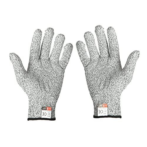 Elftoyer Cut Resistant Gloves Work Gloves Level 5 Working Safety Glove Man...