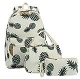 Bookbag School Backpack Girls Cute Schoolbag for 15 inch Laptop backpack set...