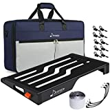 Donner Guitar Effects Pedal Board Black Pedalboard Set Extra Large DB-S300, Waterproof Backpack Bag Size 22.04' x 12.76'...
