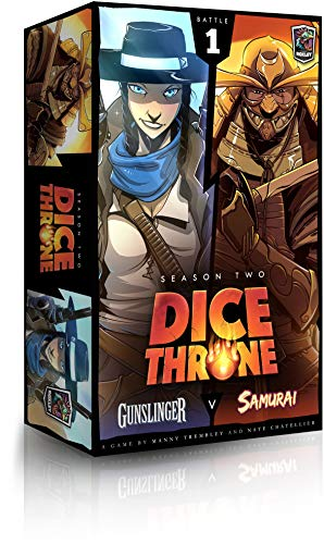 Gunslinger vs Samurai -Dice Throne: Season Two Board Game
